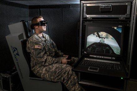 RAR Simulator with trainee full shot smaller AVT