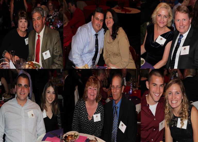 Christmas Dinner Party collage AVT Simulation