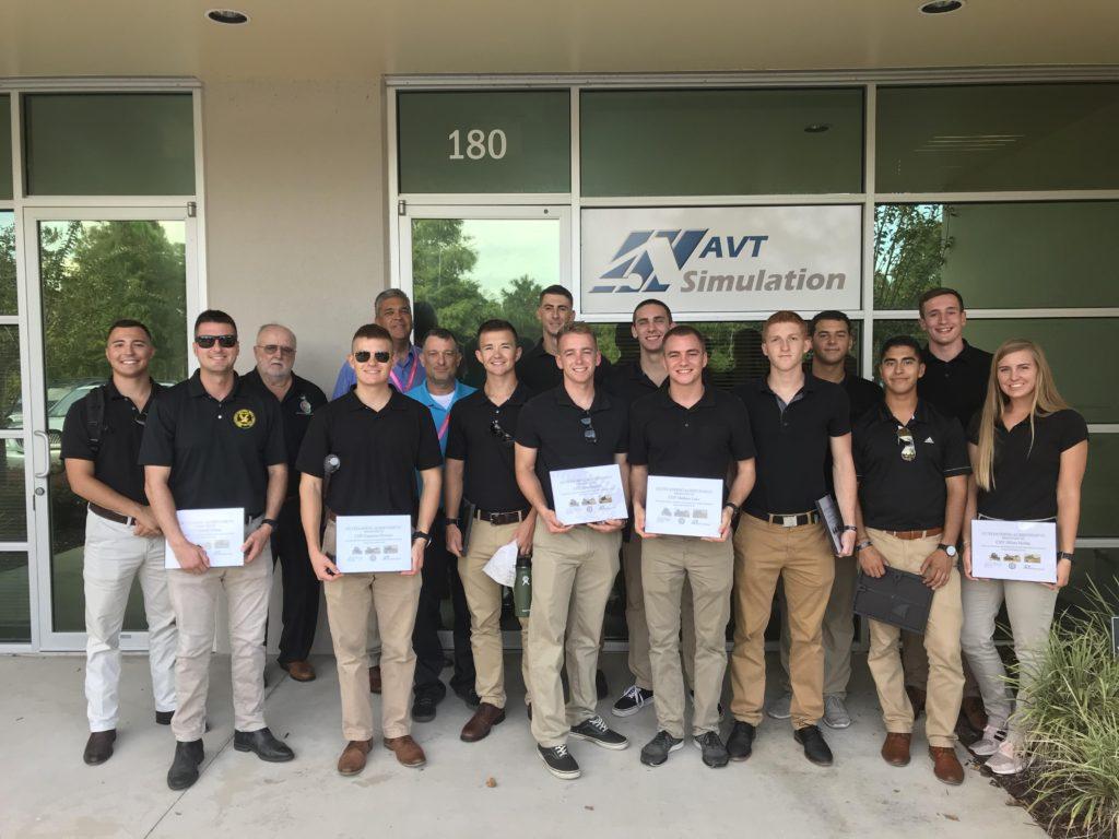 AVT Training Center graduates group shot