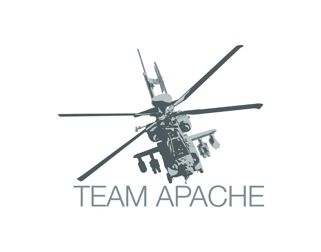 Team Apache logo white background LOGO AVT