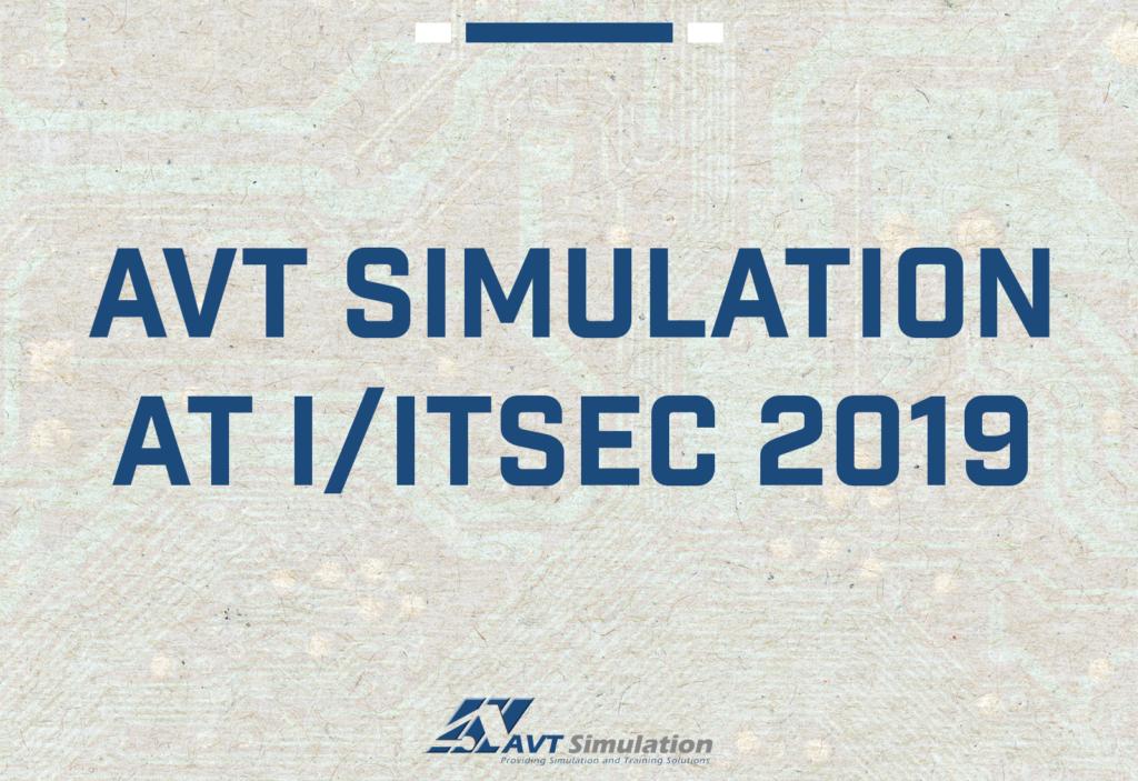 AVT Simulation at IITSEC 2019