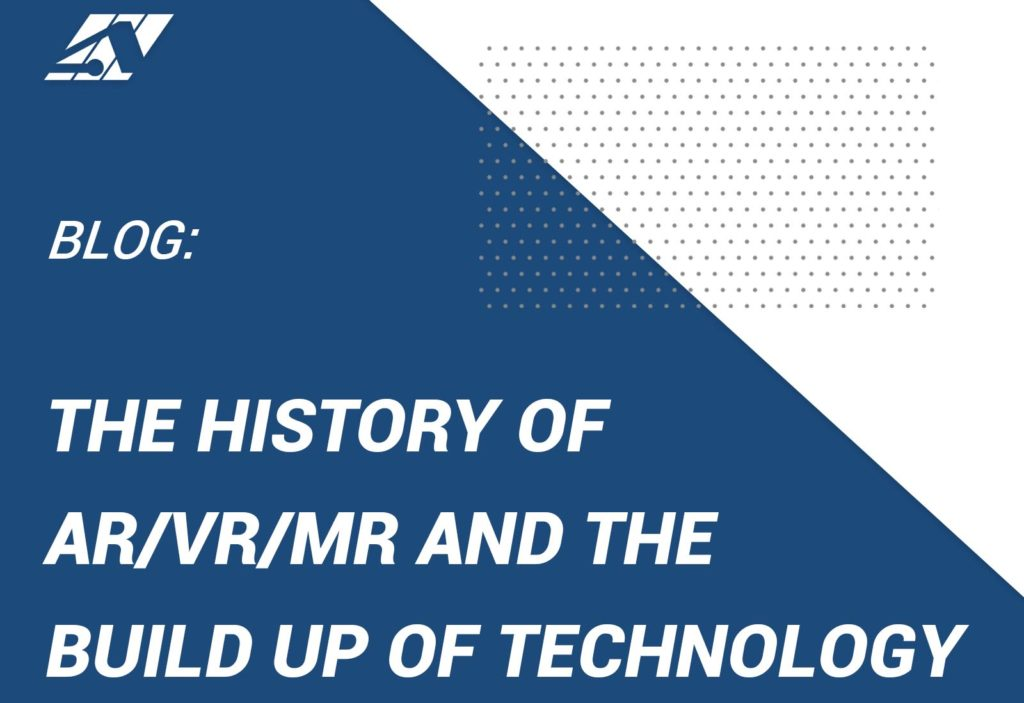 The History and Build up of AR/VR/MR