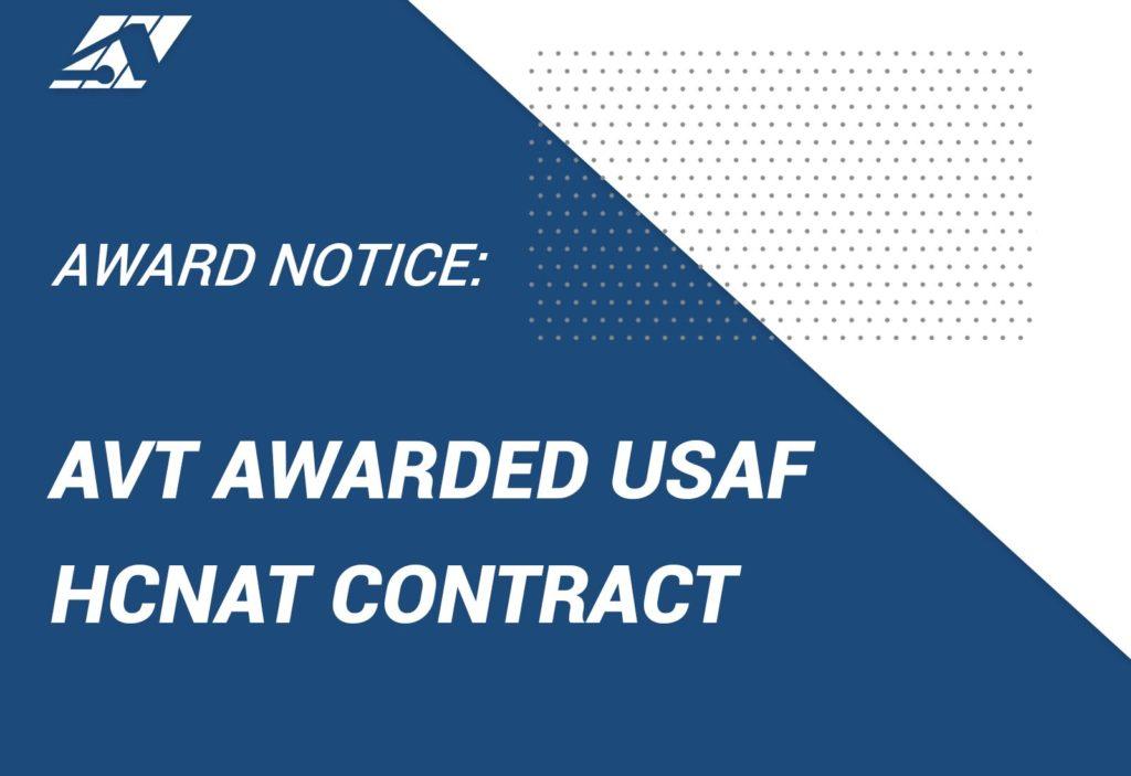 AVT Simulation wins USAF Air Force HCNAT heavies contract